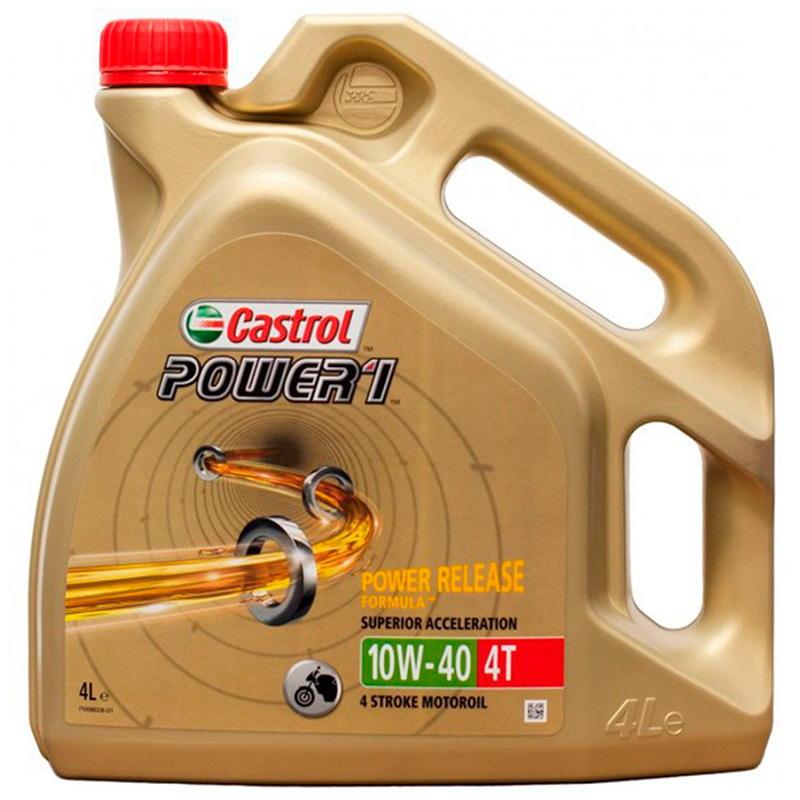 ACEITE CASTROL POWER 1 4T 10W40 4L