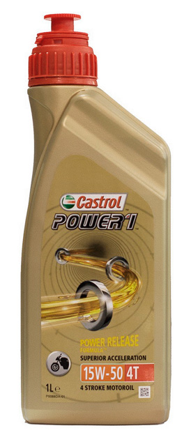 OLIO CASTROL POWER 1 4T 15W50 1L