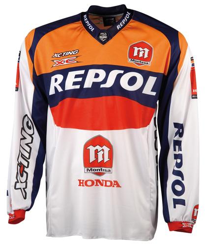 T-shirt Trial Repsol/montesa