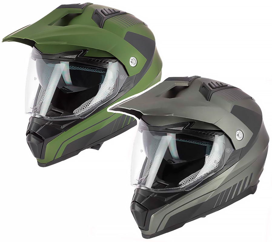 TRAIL ASTONE CROSSMAX SHAFT HELMET