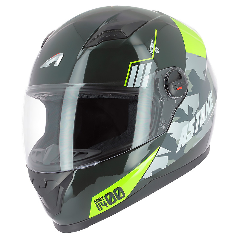 CASCO ASTONE GT2 GRAPHIC MATT ARMY