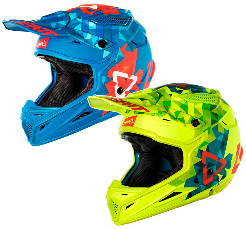 CASCO CROSS LEATT GPX 4.5 V22