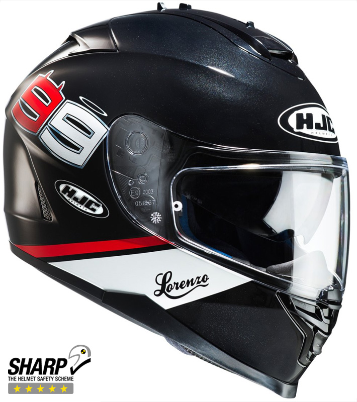 CASCO HJC IS17 LORENZO 99