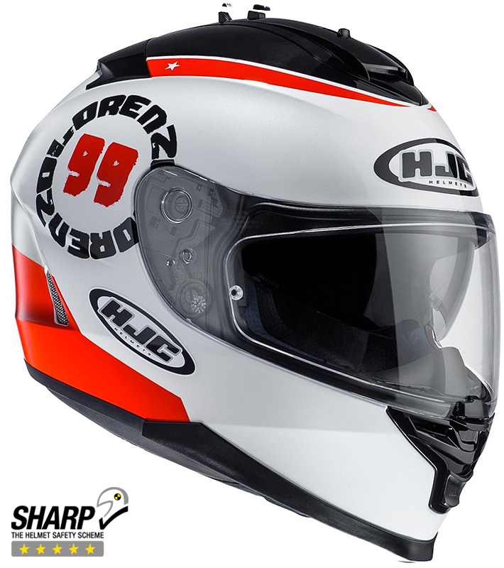 CASQUE HJC IS17 LORENZO ANGEL 99