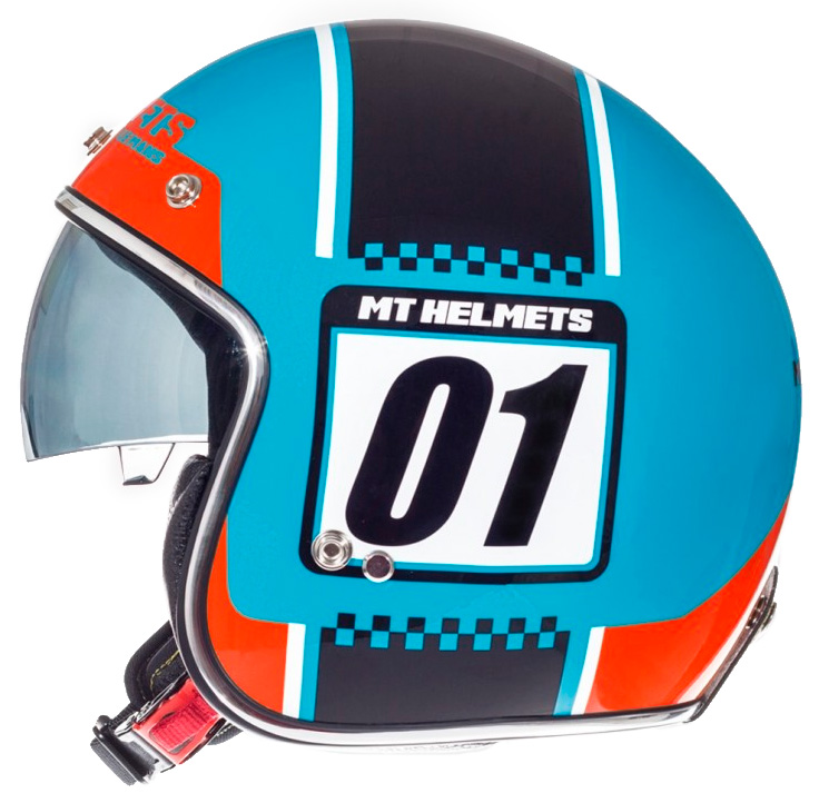 CASQUE JET MT LE MANS SV NUMBERPLATE