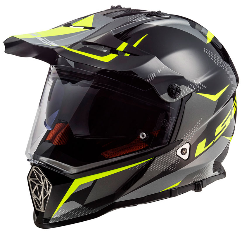 latest reliable quality great prices TRAIL HELMET LS2 MX436 PIONEER RING