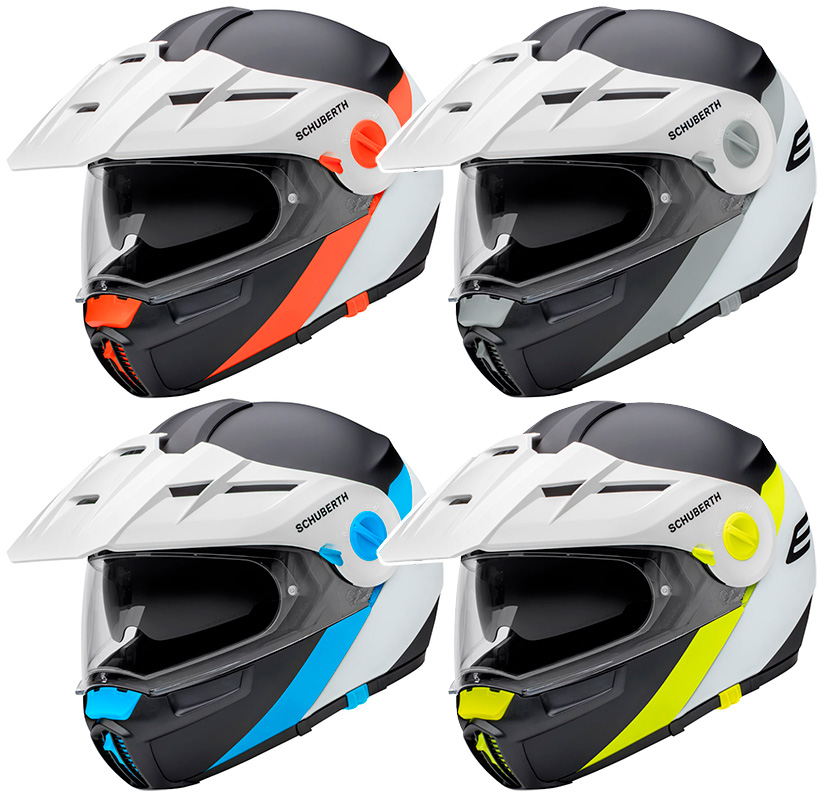 CASCO TRAIL MODULAR SCHUBERTH E1 GRAVITY
