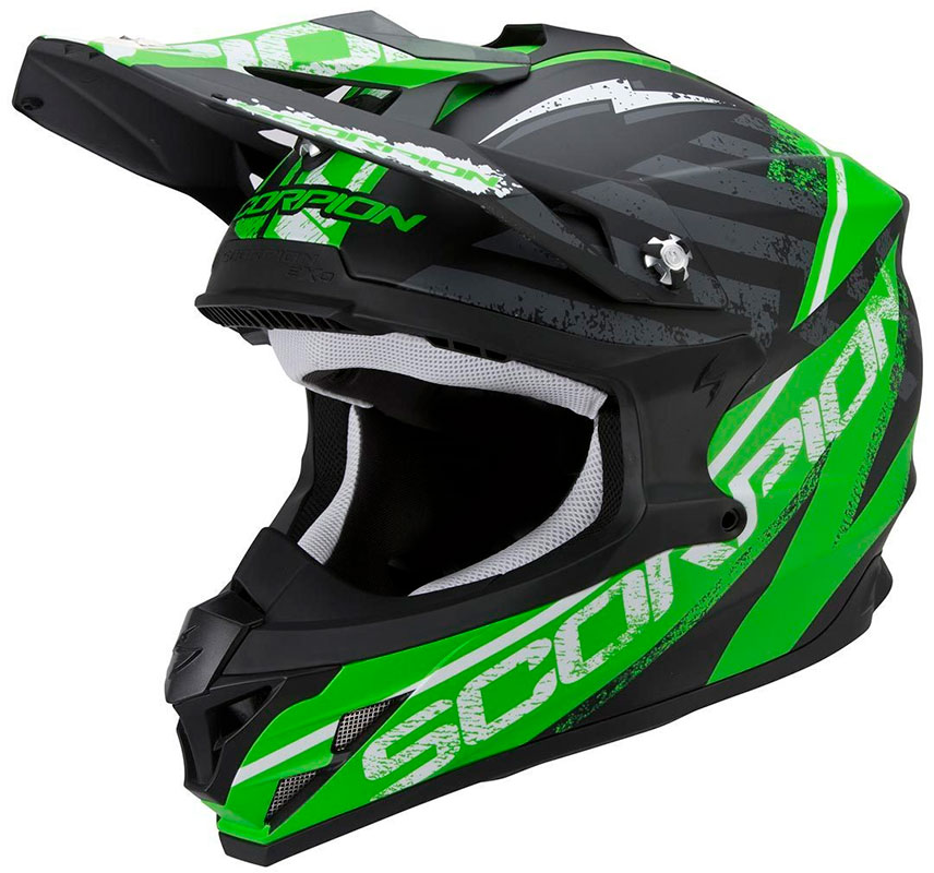 CASQUE CROSS SCORPION VX15 EVO AIR GAMMA
