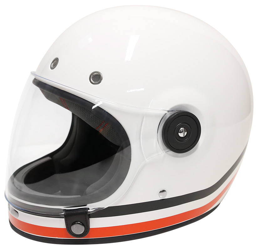 CASQUE SHIRO SH-801 BOWL - (CAFE RACER CUSTOM VINTAGE)