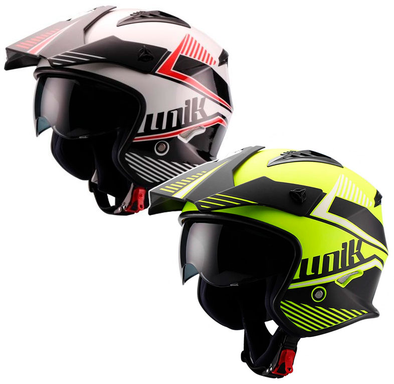 Casque Jet Trial Unik Ct 07 Montana