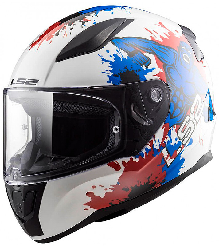 KIDS HELMET LS2 FF353 RAPID MINI MONSTER