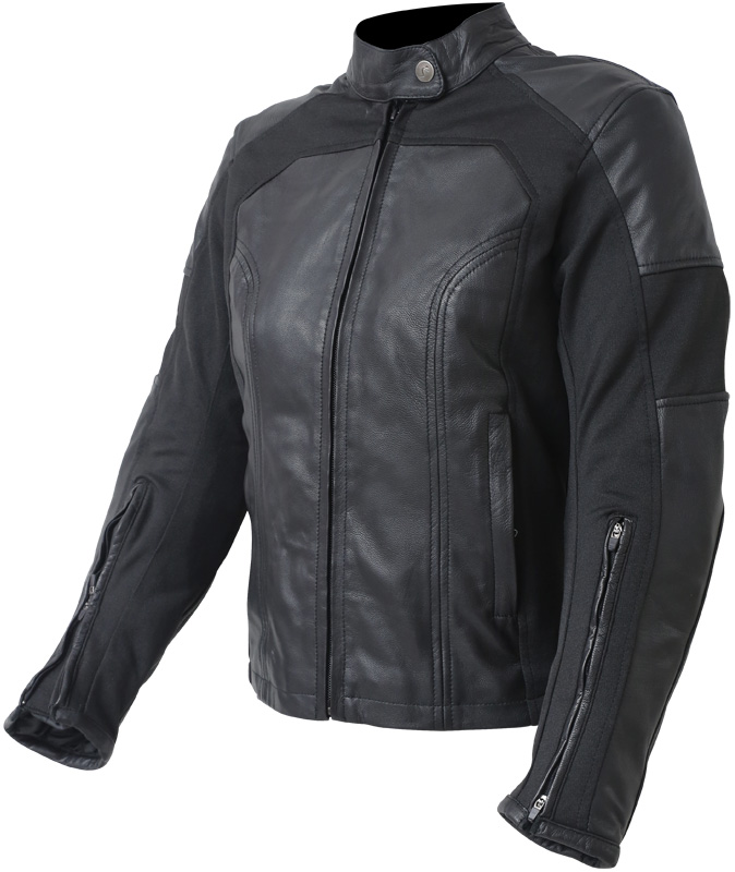 GIACCA CAFE RACER OUT TRACY LEATHER LADY