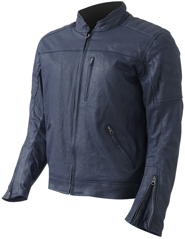 JACKET CAFE RACER OUT NOBU (WAXED COTTON)