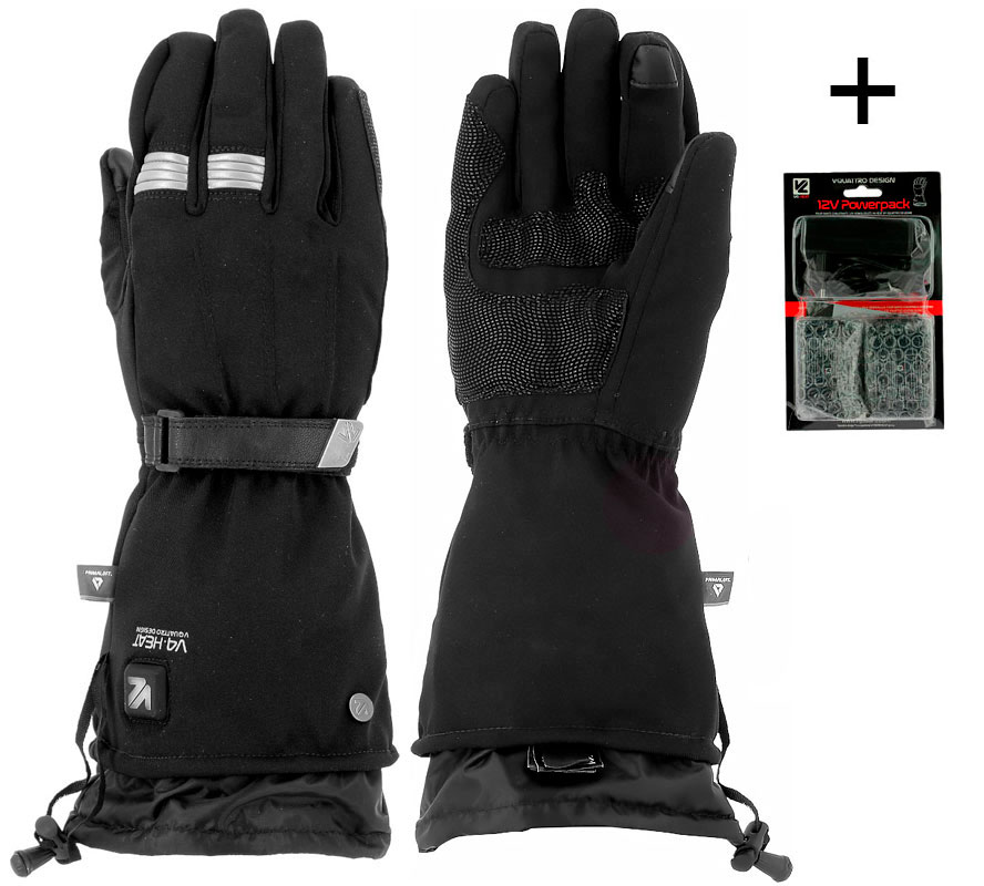 VQUATTRO METROPOLIS HEATING GLOVES LADY + BATTERIES