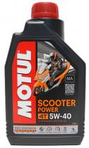 ACEITE MOTUL SCOOTER POWER 4T 5W40 1 L
