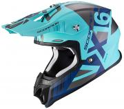 CAPACETE CROSS / ENDURO SCORPION  VX16 MACH