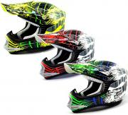 CASCO CROSS SHIRO MX306 BRIGADE KID