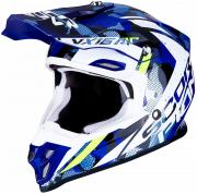 CAPACETE CROSS / ENDURO SCORPION VX-16 AIR WAKA