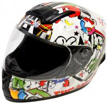CASCO INFANTIL SHIRO SH-829 COMIC