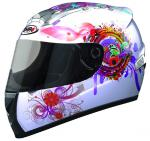 CAPACETE INFANTIL SHIRO SH-829 PRINCESS KIDS