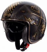 CASCO JET PREMIER VINTAGE CARBON NX GOLD CHROMED