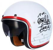 CASCO JET SHIRO SH-235 MACHINA II