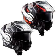 CASQUE MODULABLE LS2 FF399 VALIANT ROBOTO