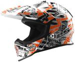 CASCO LS2 MX437 FAST MINI GLITCH YOUTH