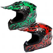 CASCO CROSS INFANTIL SHIRO MX-112 CORE KID