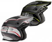 CAPACETE TRIAL HEBO ZONE 4 EXTREME
