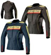 LEATHER JACKET ALPINESTARS STELLA DYNO V2 (DEF)