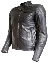 OUT INDY LEATHER CAFE RACER JACKET