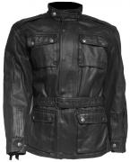 CHAQUETA CAFE RACER OUT KEOX (WAXED COTTON)