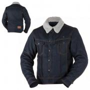 CHAQUETA OVERLAP MATHEO RAW DENIM