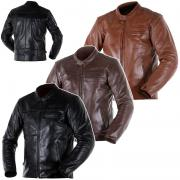 LEATHER JACKET OVERLAP RAINEY