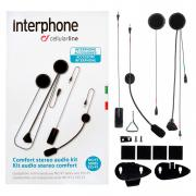 INTERPHONE KIT AUDIO DOUBLE MICRO F3/F4/F5 XT-MC