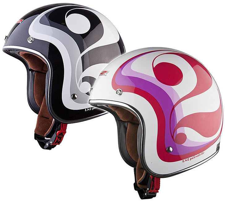 CASCO JET LS2 OF583 PSICODELIC