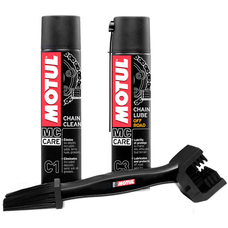PACK MOTUL CHAIN CLEANER OFF ROAD (C1+C3)