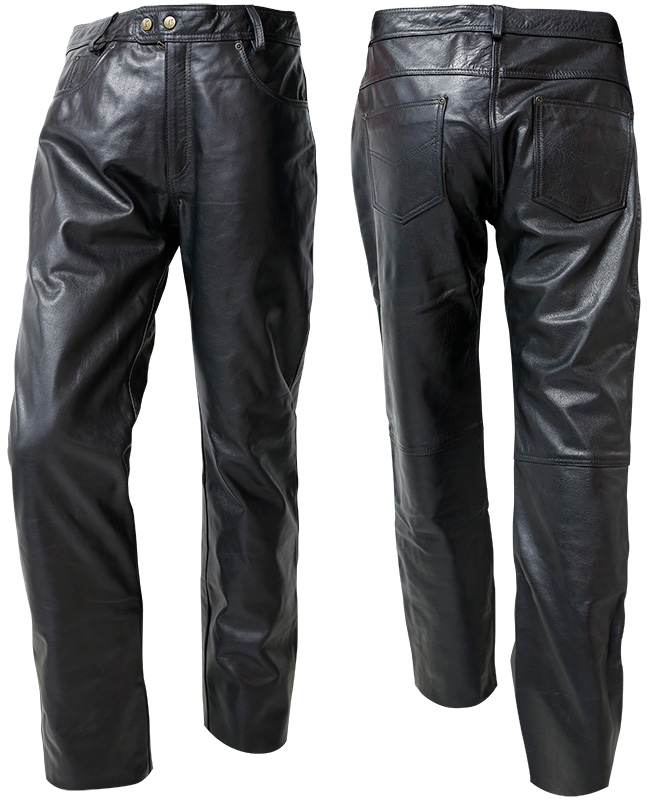 LEATHER PANTS OUT CUSTOM MAN
