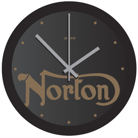 CLOCK NORTON