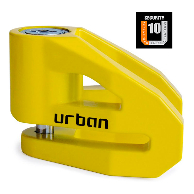 CANDADO DE DISCO URBAN UR208Y 10mm